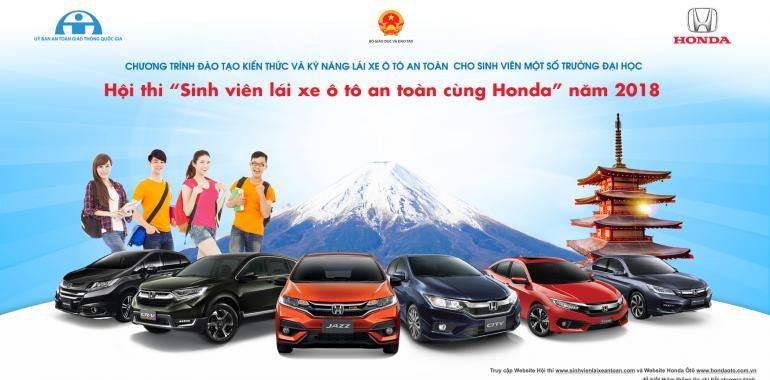 Honda Việt Nam công bố kết quả Vòng loại và thể lệ  SV lái ôtô